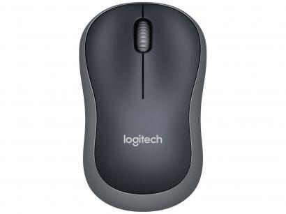 Mouse sem Fio Logitech Óptico 1000dpi 3 Botões - M185