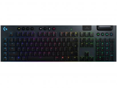 Teclado Mecânico Gamer Logitech G915 USB - Preto