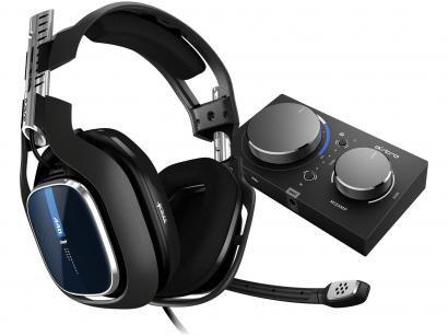 Headset Gamer Astro A40 + Mixamp Pro Tr - para PS4 PC e MAC