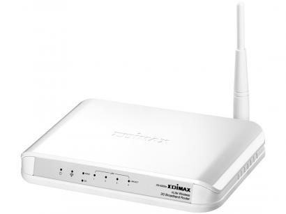 Roteador Edimax 3G-6200N 100Mbps - 1 Antena 4 Portas