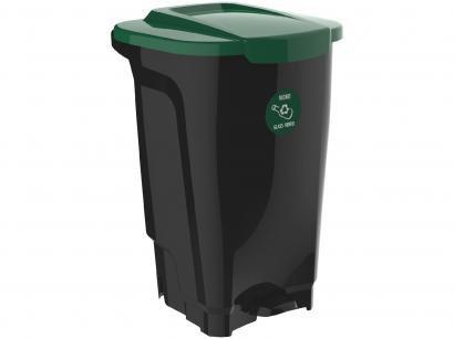 Lixeira Reciclável de Plástico com Pedal 100L - Tramontina Empresarial T-Force