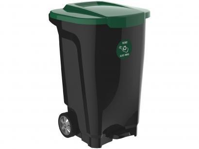 Lixeira Reciclável de Plástico 100L - Tramontina Empresarial T-Force
