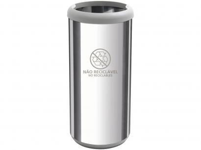 Lixeira Reciclável Inox 40L - Tramontina 94539226