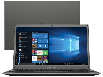 "Notebook Positivo Motion C4500CI - Intel Dual Core 500GB 14"" Linux"