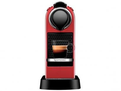 Cafeteira Expresso Citiz Cherry C113 Nespresso - de Cápsula Vermelho Cereja 19...