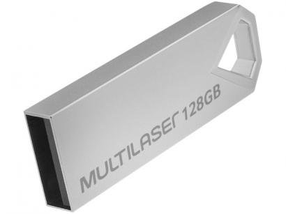 Pen Drive 128GB Multilaser PD853 - USB 2.0