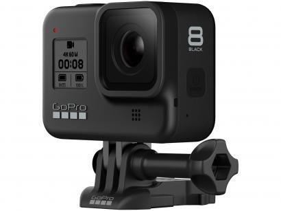 """GoPro Hero 8 Black 12MP 4K Wi-Fi Bluetooth - 2"""" à Prova dÁgua com Bateria e..."""