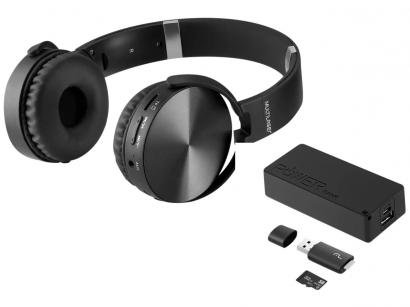 Kit Música Headphone Power Bank Cartão de Memória - Pen Drive Multilaser MC250