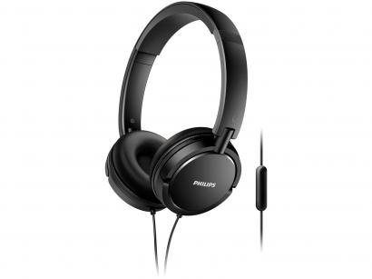 Headphone Philips Upbeat SHL5005/00 - com Microfone Preto