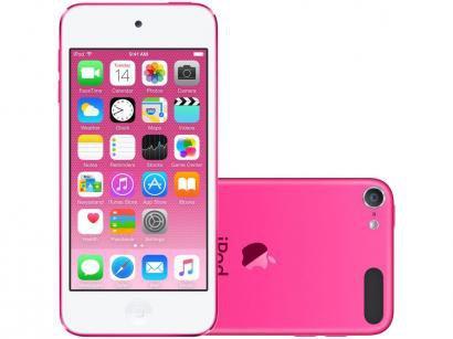 iPod Touch Apple 128GB Rosa - Resolução Câmera iSight 8MP