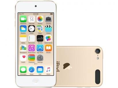 iPod Touch Apple 128GB Dourado - Resolução Câmera iSight 8MP