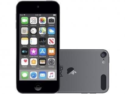 iPod Touch Apple 128GB Cinza-espacial - Resolução Câmera iSight 8MP