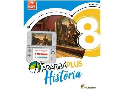 Livro Araribá Plus História 8º Ano - Obra Coletiva
