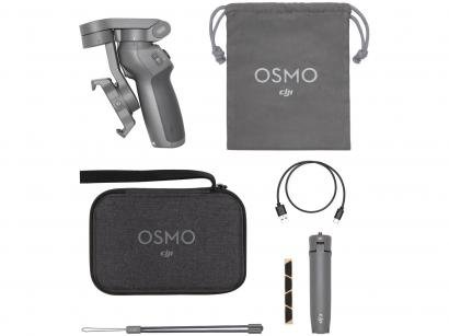 Estabilizador para Câmera Bluetooth com Tripé - DJI Osmo Mobile 3 Combo