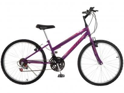 Bicicleta Aro 24 South Bike Lover Girl - Feio V-Brake 18 Marchas