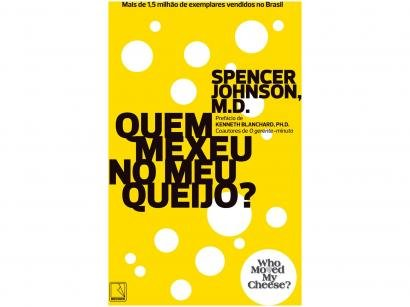 Livro Quem Mexeu no Meu Queijo? - Spence Johson M.D
