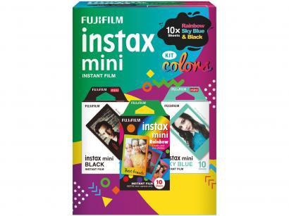 Filme Instantâneo Fujifilm Instax Mini - com 30 Poses