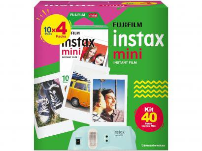 Filme Instantâneo Fujifilm Instax Mini - com 40 Poses