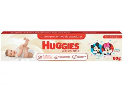 Creme Preventivo para Assaduras Infantil Huggies - Supreme Care 80g