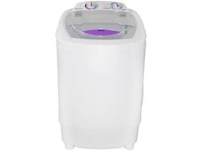 Lavadora de Roupas Praxis Mobi 4kg - 3 Programas de Lavagem