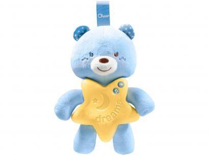 Brinquedo para Bebê Ursinho Bons Sonhos Azul - Musical Chicco