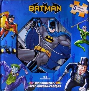 Batman  Meu Primeiro Livro Quebra-cabeças -