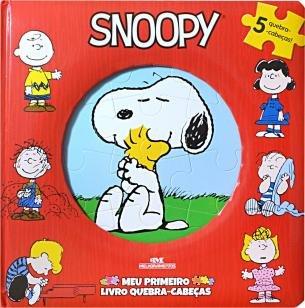 Snoopy  Meu Primeiro Livro Quebra-Cabeças -