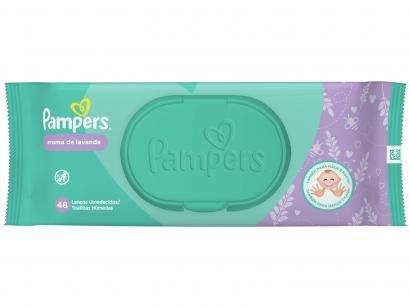 Lenço Umedecido Pampers - Aroma de Lavanda 48 Unidades
