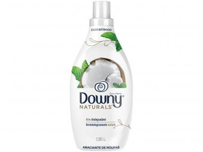 Amaciante Downy Naturals Coco e Menta Concentrado - 1,35L