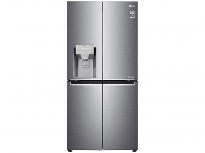 Geladeira/Refrigerador Smart LG French Door - Inverter 428L Nature Fresh e LG ThinQ GC-L228FTLK