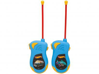 Walkie Talk Infantil Hot Wheels Candide - 2 Unidades