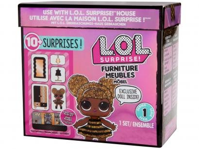 Playset LOL Surprise Forniture Candide - 10 Peças