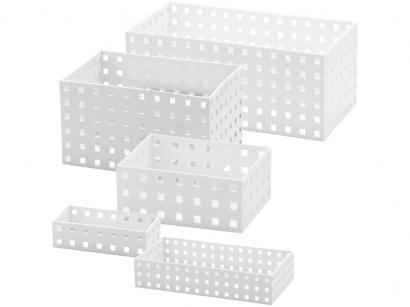 Jogo de Caixa Organizadora 5 Peças Arthi - 9114