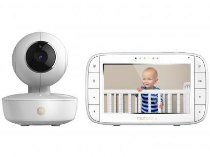 Babá Eletrônica Motorola MBP36XL com Câmera - Visão Noturna Wi-Fi Alcance até 300m