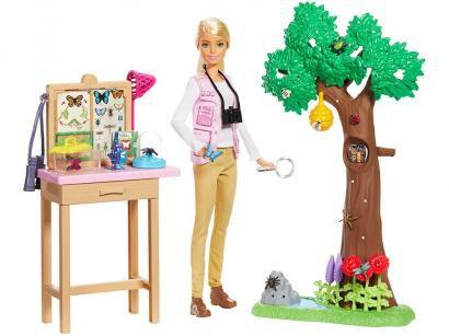 Boneca Barbie Nat Geo Cuidadora de Borboletas - com Acessórios Mattel
