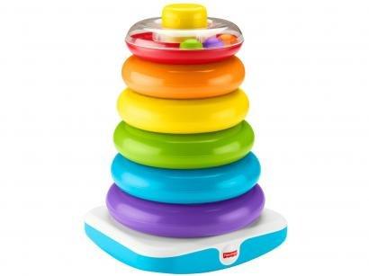 Brinquedo para Bebê Pirâmide de Argolas Gigante - Fisher-Price GML95
