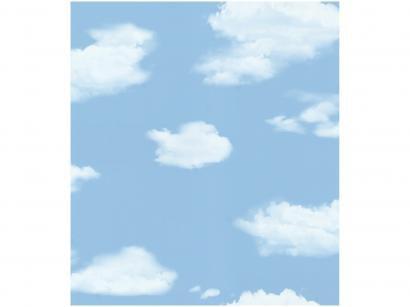 Papel de Parede para Quarto Infantil Nuvem - Bobinex Uau! 53cmx950cm