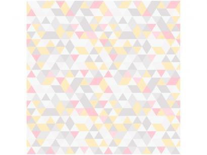 Papel de Parede para Quarto Infantil - Geométrico Bobinex Uau! 52cmx1000cm