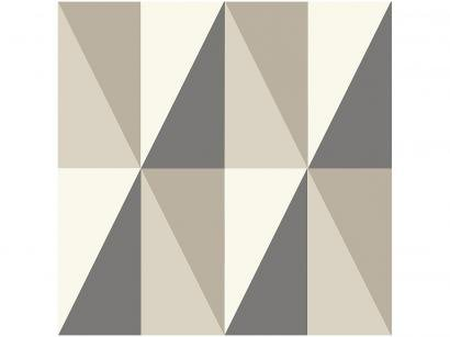 Adesivo Decorativo Cinza Geométrico - Bobinex Uau! 45cmx200cm