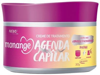 Máscara de Nutrição Monange Agenda Capilar - 24063-0 300g
