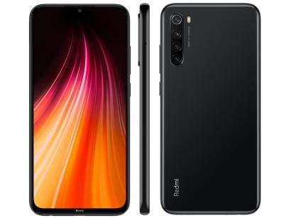 Smartphone Xiaomi Redmi Note 8 128GB Preto Space - Black Snapdragon 665 4GB...