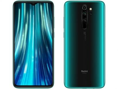 "Smartphone Xiaomi Redmi Note 8 Pro 64GB Verde - Forecast Green 6GB Tela 6,53""..."