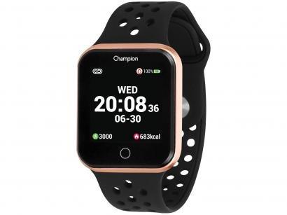 Smartwatch Champion CH50006Z Preto - 512KB