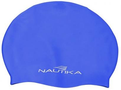 Touca de Natação de Silicone Infantil - Nautika 500600 Azul