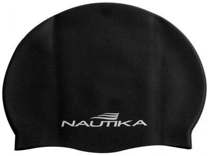 Touca de Natação de Silicone Nautika - 500650 Preto