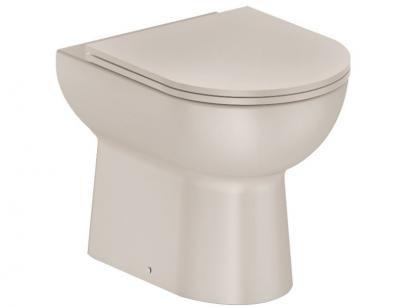 Vaso Sanitário Convencional Oval Castanho Celite - Smart