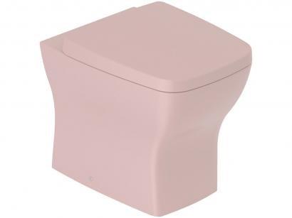 Vaso Sanitário Convencional Quadrado Rosé - Incepa Boss