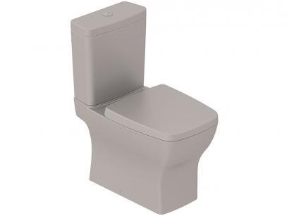 Vaso Sanitário com Caixa Acoplada Quadrado - Metrópole Matte Incepa Boss
