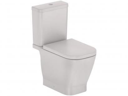 Vaso Sanitário com Caixa Acoplada Oval Beige - Roca Gap