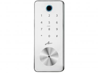 Fechadura Digital Advance Milre Bio D Tech 8600 - Biométrica com Senha e Cartão Interna de Embutir